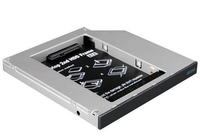 Akasa N.Stor ODD adapter for 2.5inch SATA HDD/SSD to SATA bay (fit SSD/hdd in laptop optical (DVD) bay)