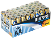 MAXELL alkaline LR06 AA 32-PACK, multipack