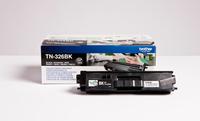 Brother TN-326BK tonercartridge zwart high capacity 4.000 pagina s 1-pack