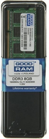 GOODRAM Essential SO-DIMM 8 GB, PC12800, DDR3-L 1600, low-voltage, 1.35V, CL11