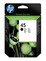 HP 45 inktcartridge zwart high capacity 42ml 930 pagina s 1-pack