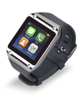 Rikomagic M3 Bluetooth Smartwatch, Metal, Linux OS, MTK6250, app for Android phone/SMS and many more functions