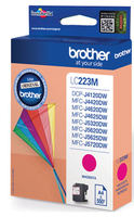 Brother LC-223 inktcartridge magenta standard capacity 550 pagina s 1-pack
