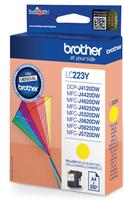 Brother LC-223 inktcartridge geel standard capacity 550 pagina s 1-pack