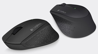 Logitech Wireless Mouse M280 - BLACK - 2.4GHZ