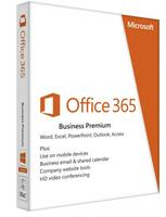 Microsoft Office 365 Business Premium, 1 user, per jaar, auto renew