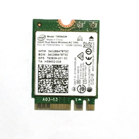 Intel WiFi Dual Band Wireless-AC 7265 2x2 AC + M.2 802.11ac (up to 867 Mbp)Bluetooth 4.0