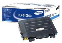 Samsung clp-510d tonercartridge cyaan standard capacity 5.000 pagina s 1-pack