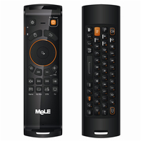 MeLE F10 Deluxe Fly Wireless Mouse and keyboard Android, dubbelzijdig, USB Dongle (RF03L)