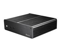 Akasa Euler T, Fanless Ali Thin Mini ITX Case, 2 x Frt USB 3.0, Cut Edge Finish, VESA with 3x2.5 HDD/SSD and 1x RS232 support