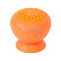OMEGA OG46R portable speaker 3 W Mono portable speaker Oranje, splash resistant BT V3.0