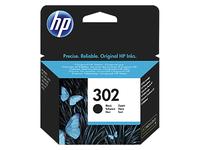 HP 302 inktcartridge zwart - voor deskjet 1010, 2130, 3630 envy 4520, 4522 officejet 3830, 3834, 4650