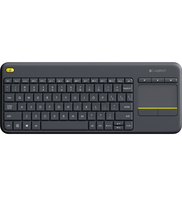 Logitech Wireless touch keyboard K400 plus black US intl