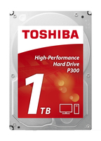Toshiba P300 3.5 SATA6GBS HDD, 1 TB, 7200 rpm, 64 MB Cache
