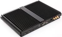 Giada MiniPC barebone F301 i3-5010U, Fanless, 1x SO-Dimm DDR3-L, 1x 2,5inch Sata6, 1x mSata mPCI-E, GBit Lan, Wifi/BT optional, 2x USB2.0, 4x USB3, 1x displayport, + 1x HDMI, audio,