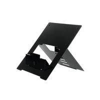 R-Go Riser Flexibel Laptopstandaard, verstelbaar, zwart
