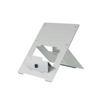 R-Go Riser Flexibel Laptop standaard, verstelbaar, zilver