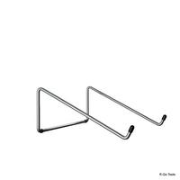R-Go Steel Basic Laptopstandaard, zilver