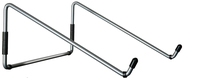 R-Go Steel Travel Laptopstandaard, zilver
