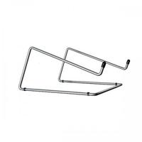 R-Go Steel Office Laptopstandaard, zilver