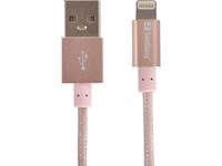 Sandberg Excellence Lightning Rose Gold 1m, *USBAM, *LIGHTNINGM