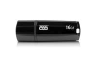 GOODRAM USB3.1 Flash Drive, 16 GB, UMM3, USB A connector, Black, 60/20 MB/s (USB3/2/1.1 comp)