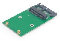 Gembird Mini SATA 3.0 naar mSATA SSD adapterkaart (connect mSATA card to mini SATA)