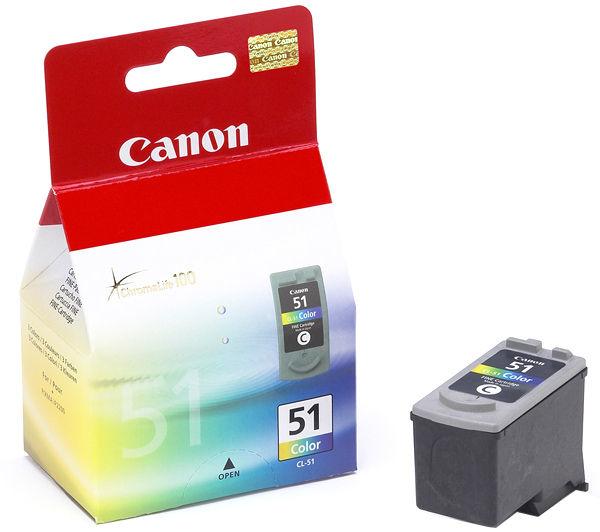 Canon cl-51 inktcartridge kleur high capacity 21ml 560 pagina s 1-pack