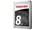 Toshiba X300 3.5 SATA6GBS HDD, 8 TB, 7200 rpm, 128 MB Cache
