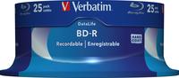 VERBATIM BD-R BLU-RAY 25GB 6X CAKE*25 43837, multipack