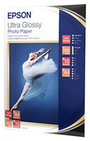 Epson ultra glossy photo paper inktjet 300g/m2 a4 15 sheets pack