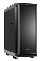 be quiet! Dark Base 900 Silver, 577 x 243 x 585, IO-panel 2x USB 3.0, 2x USB 2.0, HD Audio, 2x 5,25, 7x 3,5, 15x 2,5, inc 3x 140 mm, tripple air channel cooling, 2-in-1 airintake sidepanel, Manual fan controoler, 3 x PWM, 3x3pin