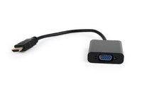 Gembird HDMI naar VGA adapter, 15 cm, *HDMIM, *VGAF