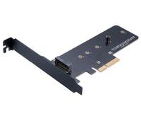 Akasa M.2 SSD to PCIe adapter card, *M.2, *PCIEM