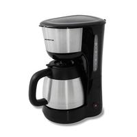 Inventum Koffiezetter, 1.0l, zwart/rvs, thermoskan