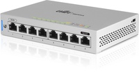 Ubiquiti US-8 - Fully Managed 8-port Gigabit UniFi switch 1 PoE Passthrough Port