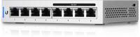 Ubiquiti Net Switch 8 port managed Gigabyte, 4 ports POE , US-8-60W, 60 Watt PoE