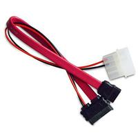 Akasa SATA cable for slimline opticals (power and data), *MOLEXM, *SATAM