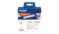 Brother p-touch dk-11203 die-cut map label 17x87mm 300 labels