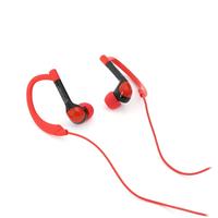 PLATINET IN-EAR EARPHONES + MIC SPORT PM1072 RED [42939
