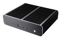 Akasa Euler TX, Wide Temperature range and performance Fanless Ali Thin Mini ITX Case, 4 x Frt USB 2.0, 1 x RS232
