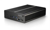 Akasa Newton MC, Fanless solid Ali case for Intel NUC (Board Specific) + 2.5 HDD/SSD, Serial Support w/ 65W Power Adpt.