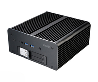 Akasa Max MT6, Fanless for NUC (Brd Specific)+2 x2.5 SSD/HDD Mob Tray, Serial Support (Unbrand)(Opt 6th Gen Support*)