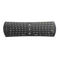 Rii mini i24 Air mouse keyboard (2.4G), 450 mAh accu, 200 x 58 x 19 mm Qwerty ***