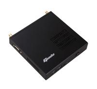 Giada MiniPC barebone DK37 Ultra micro case 130*128.5*26 mm, Intel Celeron 3865U , Intel HD 610, 1x SO-DIMM DDR4, 1x mSata, 1x M.2, GB Lan, 4x USB3, 1x DP 1.2, 1x HDMI 1.4b, Black