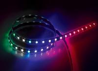 Akasa VegasMBW 9pc Magnetic LED Strip light, 50cm RGBW , Gigabyte Fusion Certified, 5 Pin Header