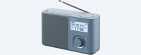 Sony Designradio XDR-S61D blauw FM DAB