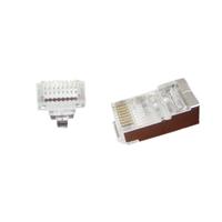 Gembird Modulaire FTP RJ45 stekker met doorsteekmontage, 10 stuks per zakje, *RJ45M