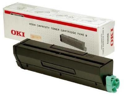 Oki b4300, b4350 tonercartridge zwart high capacity 6.000 pagina s 1-pack
