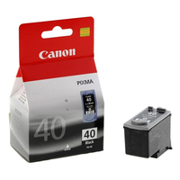Canon pg-40 inktcartridge zwart standard capacity 16ml 420 pagina s 1-pack